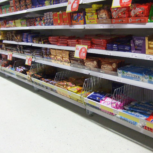 Point of Sale Display Baskets for Poundstretcher