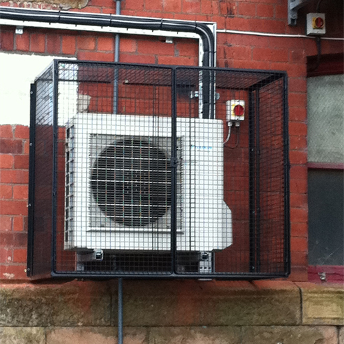 Protection Cages for Air Conditioning Unit
