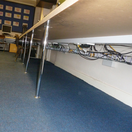 Under Desk Cable Trays