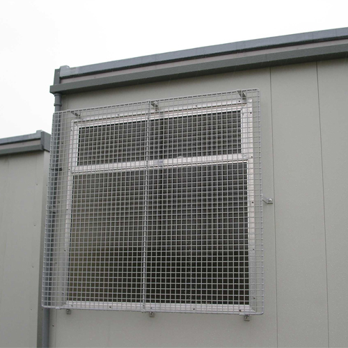 Wire Mesh Cabin Window Guards for Portacabins