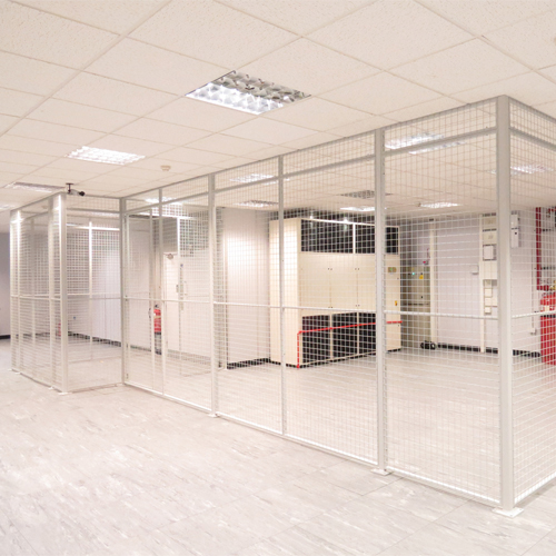 Wire Mesh Data Centre Partition