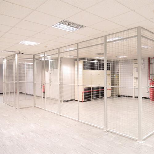 Wire Mesh Data Centre Partition