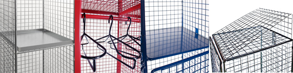 Wire Mesh Lockers Optional Extras