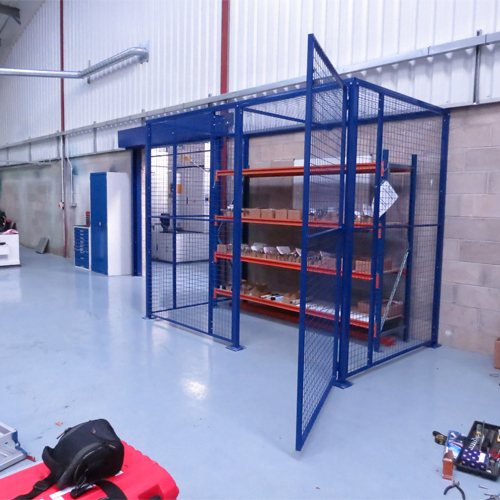 Wire Mesh Racking Cage