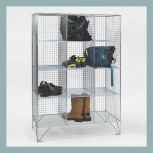 12-Compartment-Mesh-Locker-Without-Doors