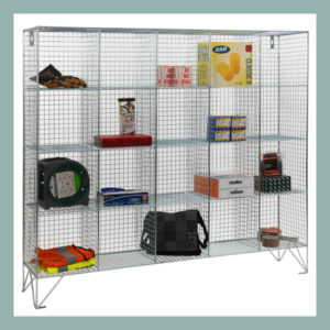 20-Compartment-Wire-Mesh-Locker-without-Doors