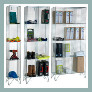 4-Comp-Wire-Mesh-Locker-No-Doors