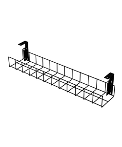 Black-Cable-Trays-with-Small-Brackets