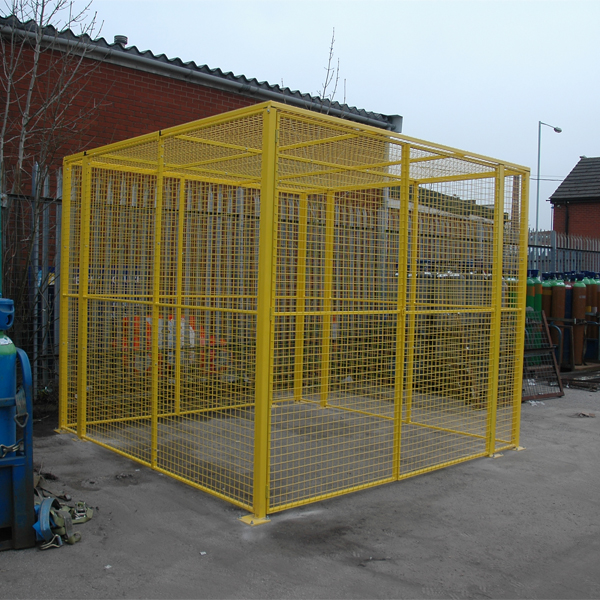 Completed Wire Mesh Gas Cage by AMP