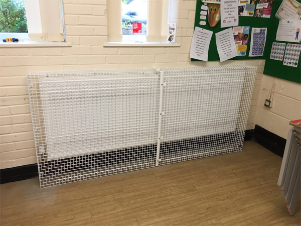 Floor Standing Radiator Guard