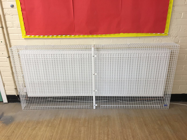 Floor Standing Radiator Guard for Nursery