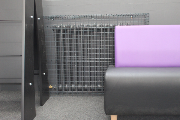 Wire Mesh Radiator Guards for Withington Library