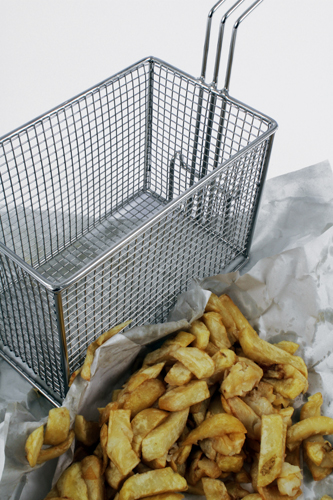 Wire Mesh Frying Basket for Catering Sector