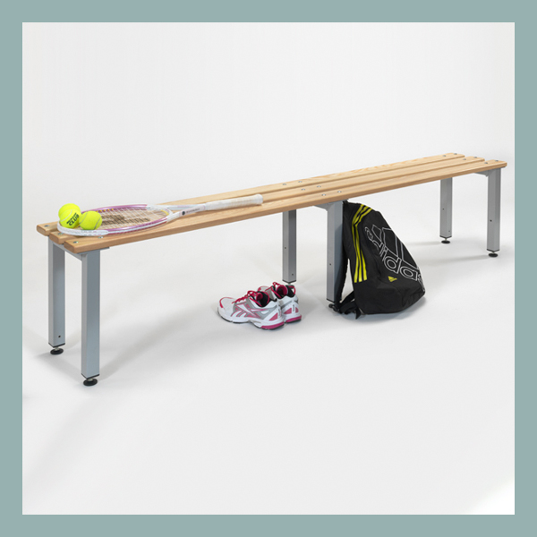 Free-Standing-Bench-2000mm-Long-with-Adjustable-Feet