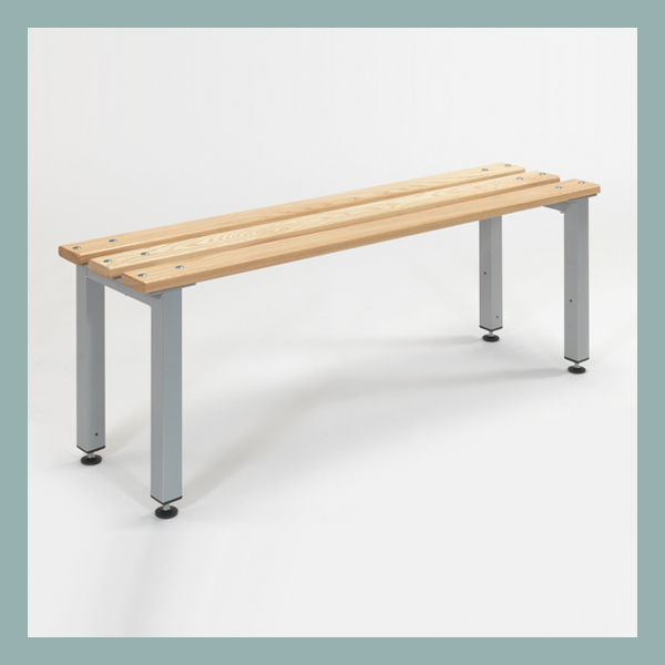 Free-Standing-Changing-Room-Bench-with-Adjustable-Feet