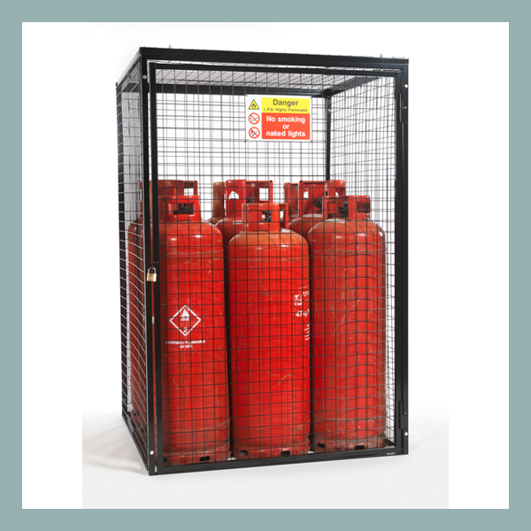 Gas-Cylinder-Cage-for-9-x-47kg-Cylinders-Black-Powder