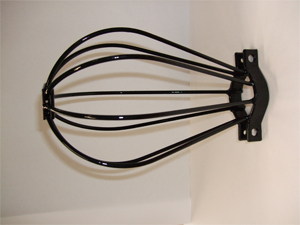 Wire Light Bulg Guard for Historic Lighting