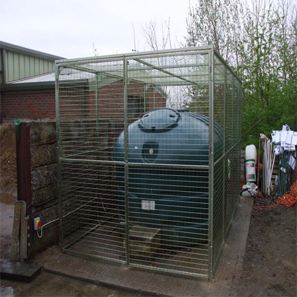 Oil-Tank-Enclosure