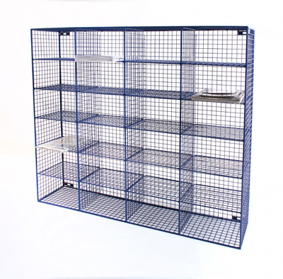 Wire Mesh Pigeon Hole Sorting Unit