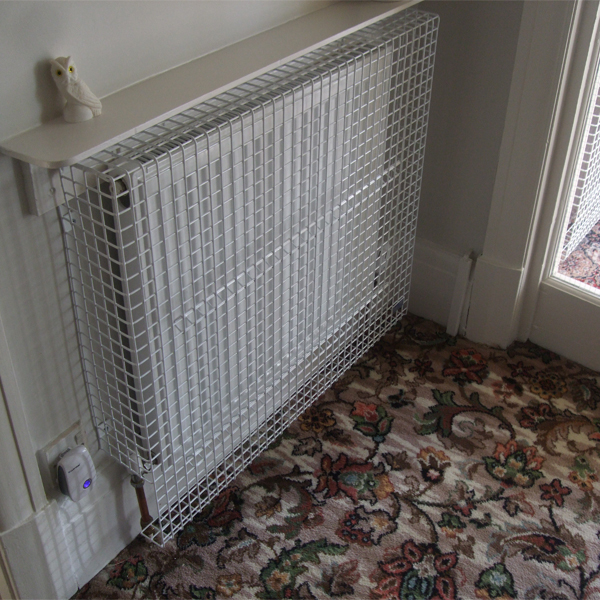 Radiator Guard for Red Croft Care Home Reception Area