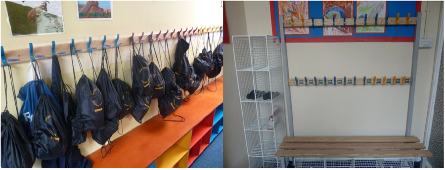Changing Room Units for Saxton School