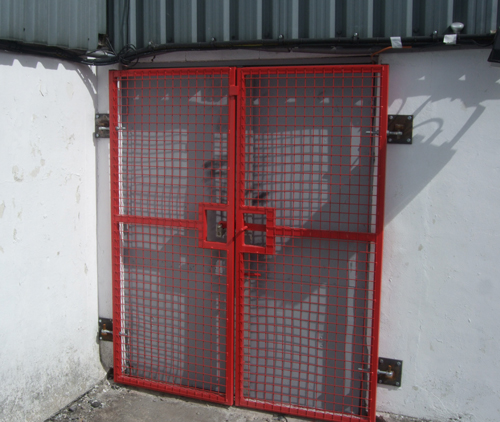Security Gates for Oldham Rugby Club