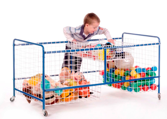 Toy Storage Baskets & Trolley