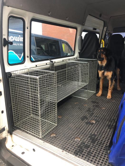 Van Storage Units for Oldham Mountain Rescue