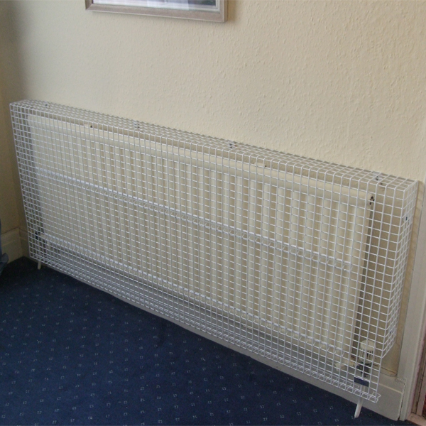 Wire Mesh Radiator Guard for Red Croft Care Home