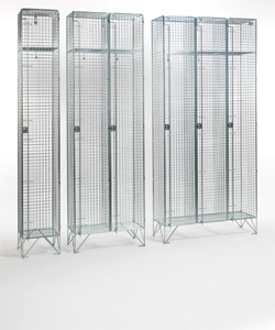 Stainless Steel Wire Mesh Lockers