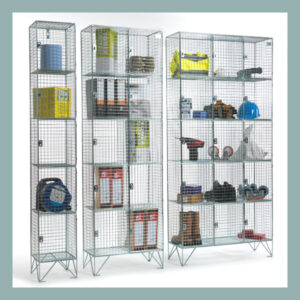 5-Door-Wire-Mesh-locker