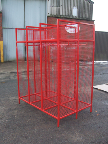 Emergency Response Mesh Locker