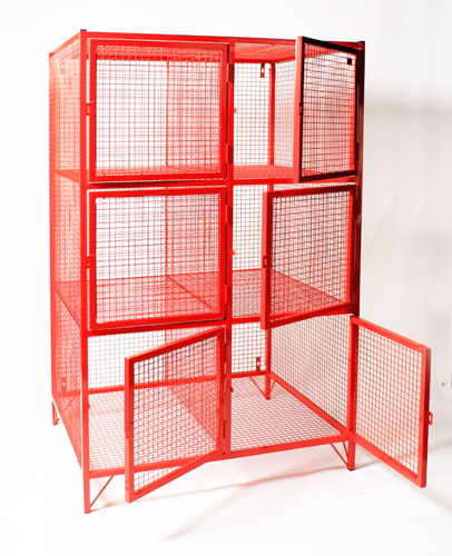 Mesh Kit Bag Locker for Fire Service