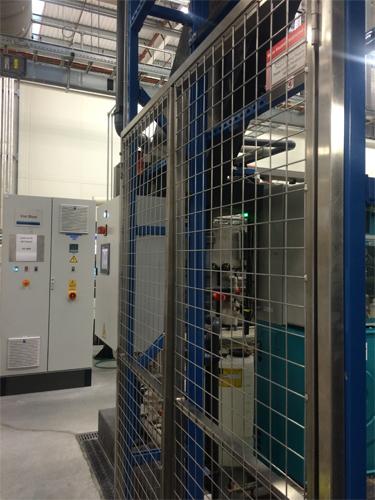 Stainless Steel Machine Maintenance Doors