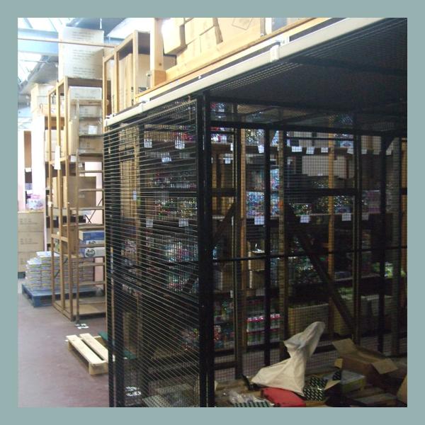 Under-Mezzanine-Sliding-Door-Partition-for-Warhouse