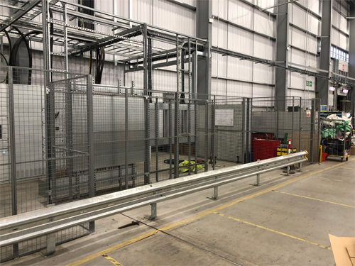 Mesh Partition for Safety at Royal Mail
