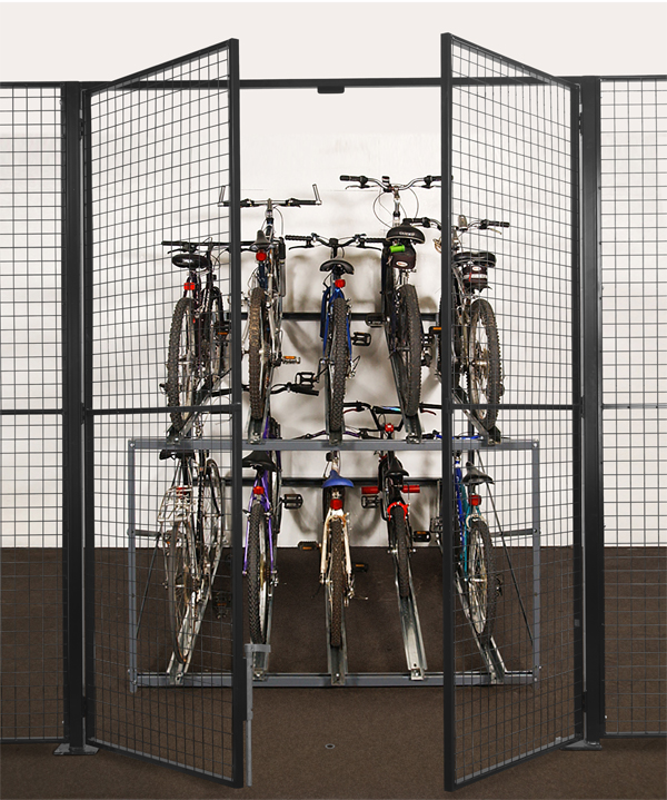 Cycle Store Partition Wire Mesh
