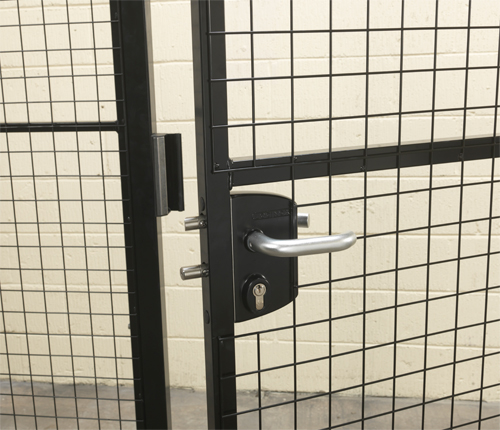 Handle Locking on Mesh Partitions