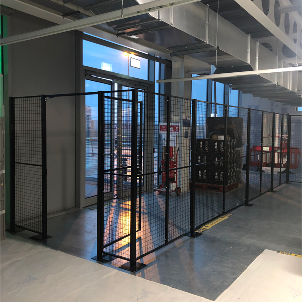 Wire Mesh Secure Entry Partitions