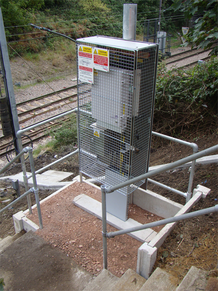 Network Rail Protection Cage